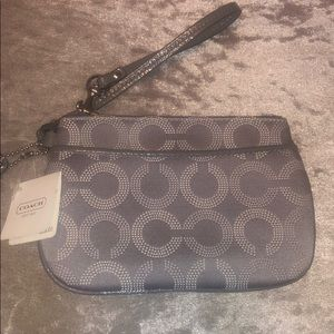 New with tags Coach wristlet